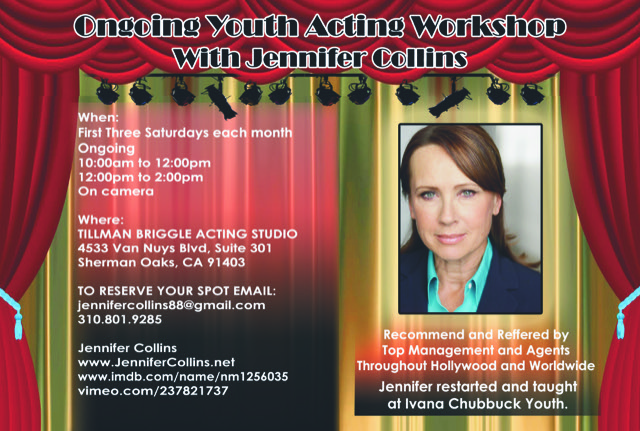 Jennifer Collins Youth Acting Workshop