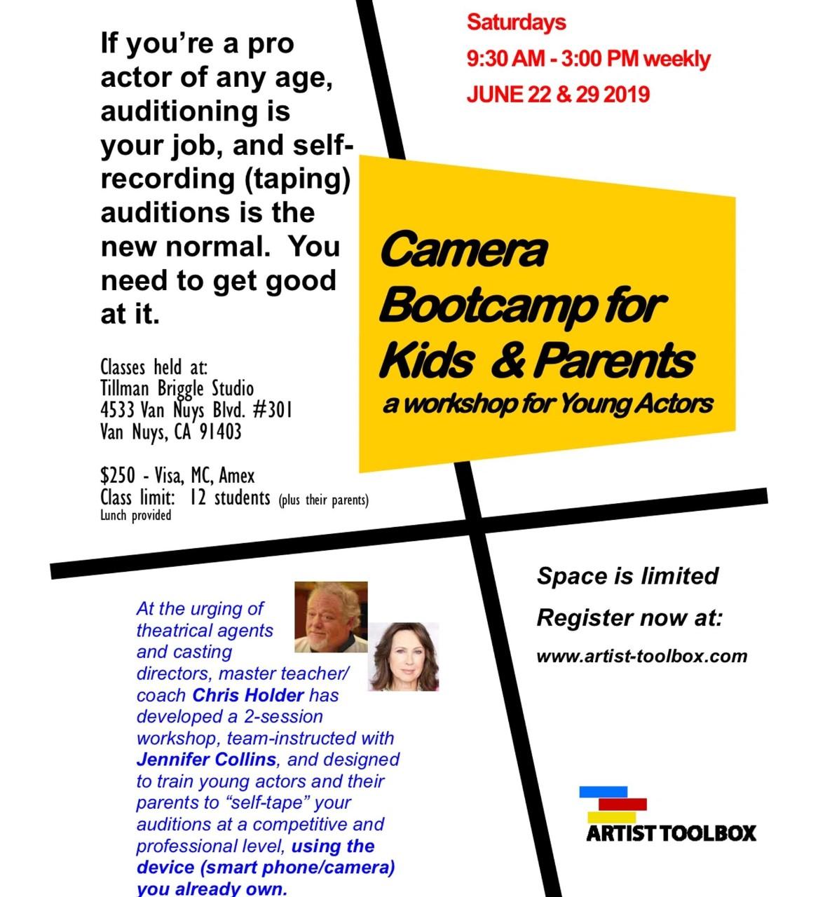 Jennifer Collins Camera Bootcamp for kids & parents